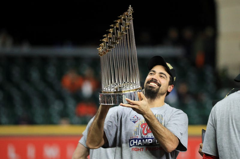 Anthony Rendon helped the Nationals to win their first World Series title in franchise history in 2019.