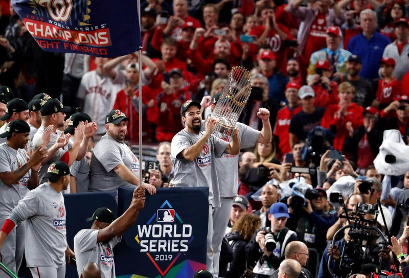 Anthony Rendon led the Nationals to their first World Series title in 2019.