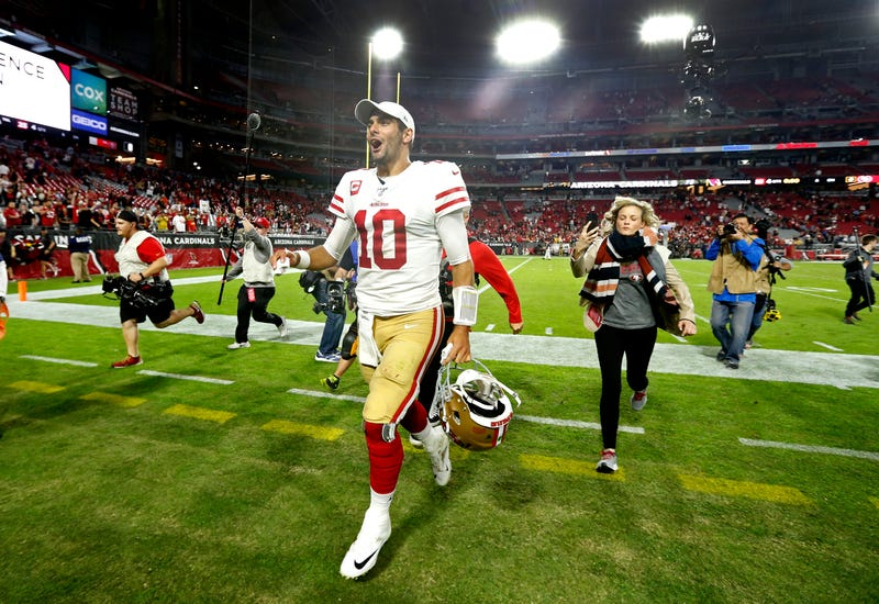 The 49ers are undefeated.