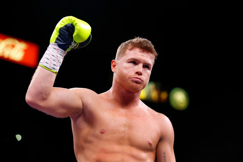 Canelo Alvarez prepares for his WBO light heavyweight title fight against Sergey Kovalev at MGM Grand Garden on November 2, 2019 in Las Vegas, Nevada. Alvarez won the title by an 11th-round knockout.