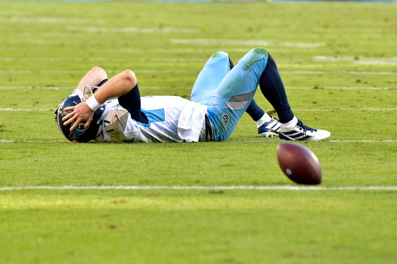 Ryan Tannehill and the Titans had their winning streak snapped in Week 9.