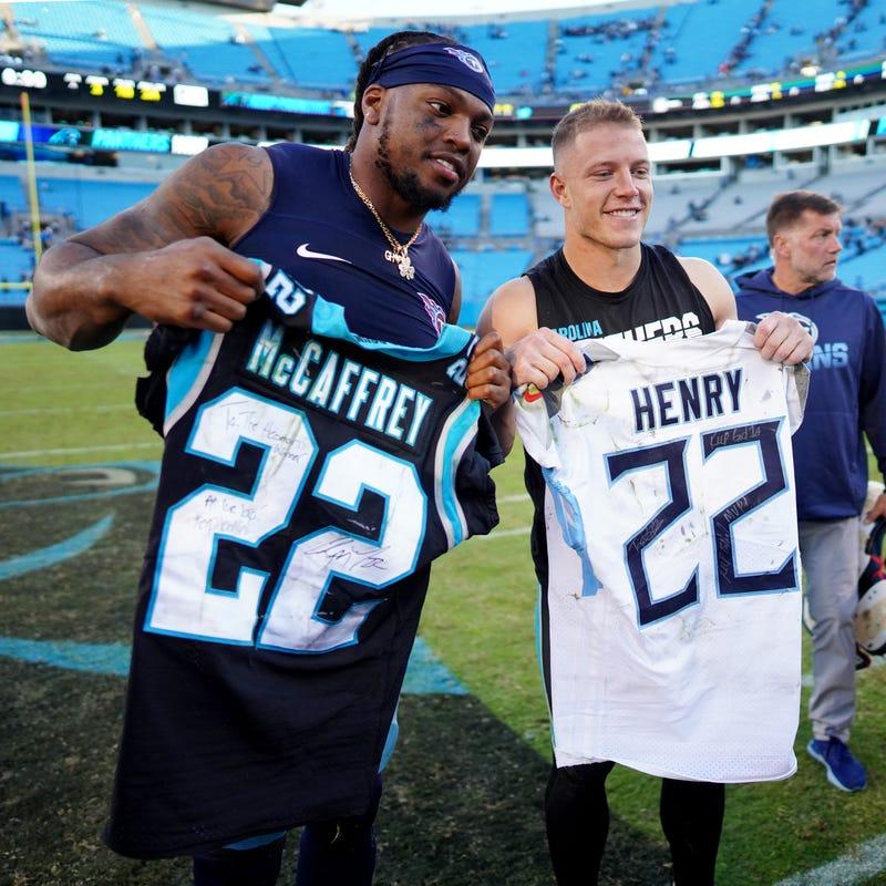 Derrick Henry and Christian McCaffrey