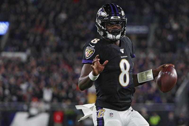 Lamar Jackson and the Ravens upset the Patriots in Week 9.