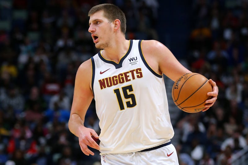 Nikola Jokic and the Nuggets will play in the final game on Christmas.