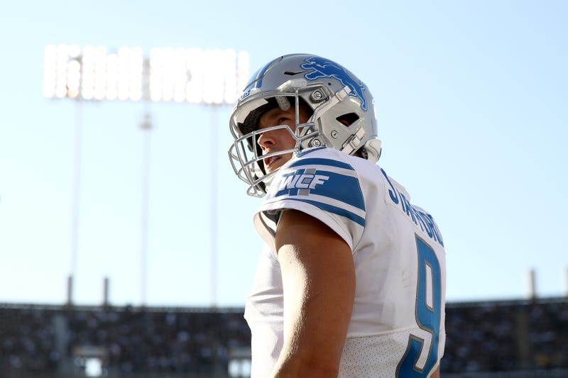 Matthew Stafford was in the midst of one of the best seasons of his career before a back injury.