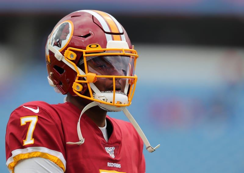 Dwayne Haskins will start for the Redskins for the rest of 2019.