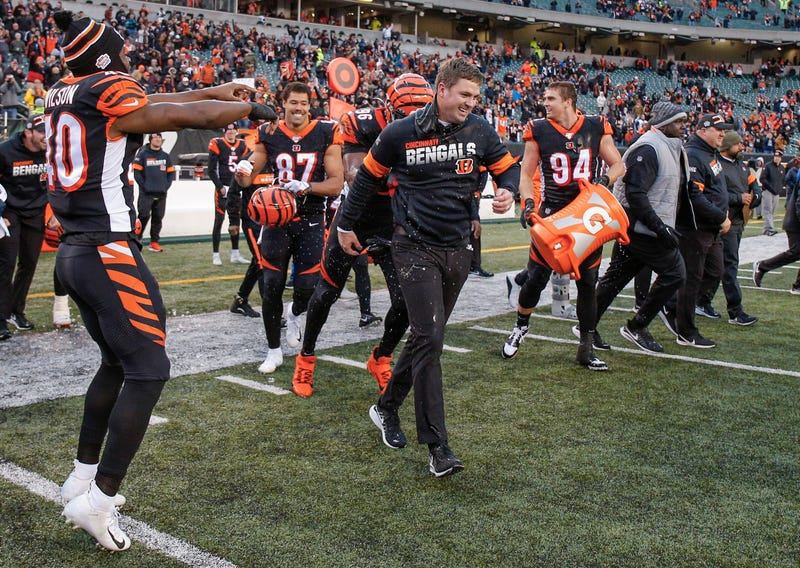 The Bengals secured their first win of the season in Week 13.