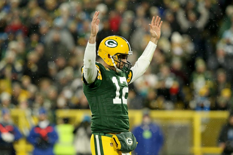 Aaron Rodgers and the Packers defeated the Panthers in Week 10.