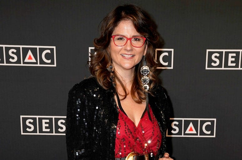 Jenee Fleenor attends the 2019 SESAC Nashville Music Awards