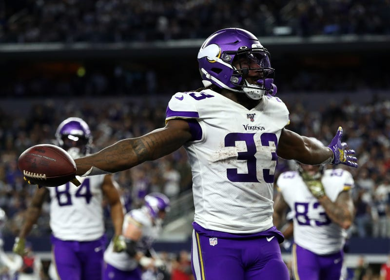 Dalvin Cook leads the NFL in rushing yards.