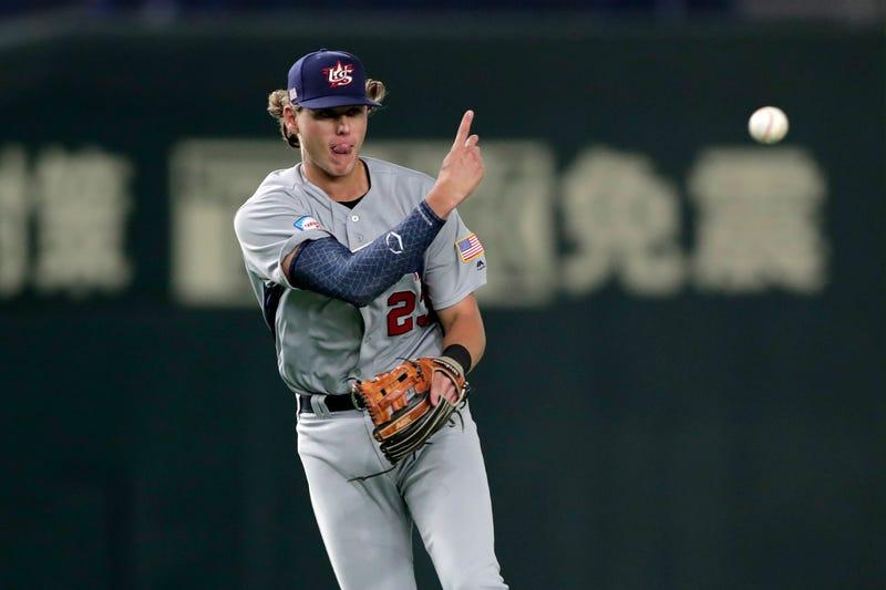 Phillies prospect Alec Bohm representing Team USA in Tokyo