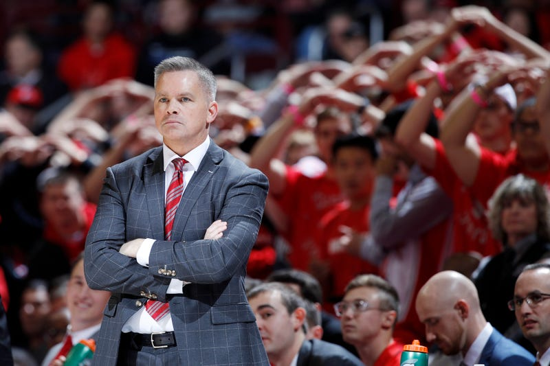 Chris Holtmann is in his third year as Ohio State's head coach.