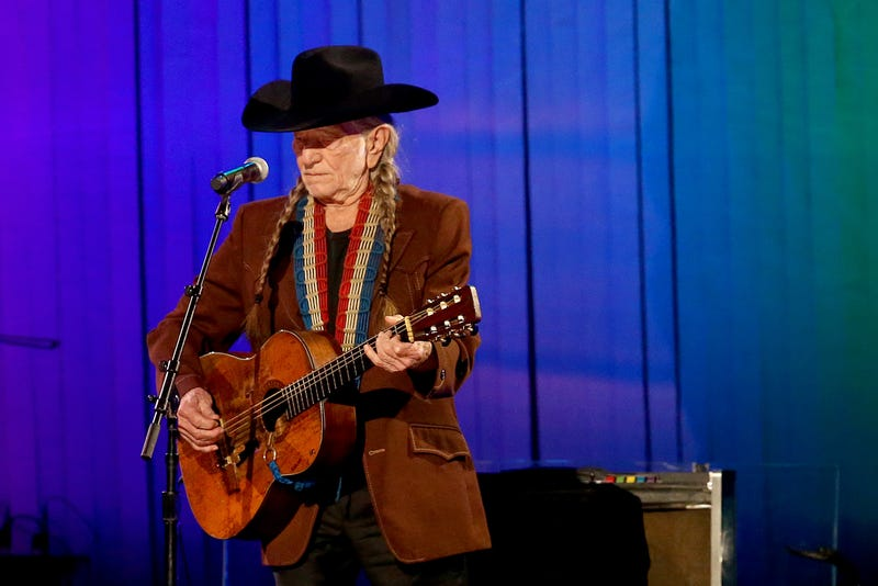 Willie Nelson performs onstage during the 53rd annual CMA Awards at the Bridgestone Arena on November 13, 2019