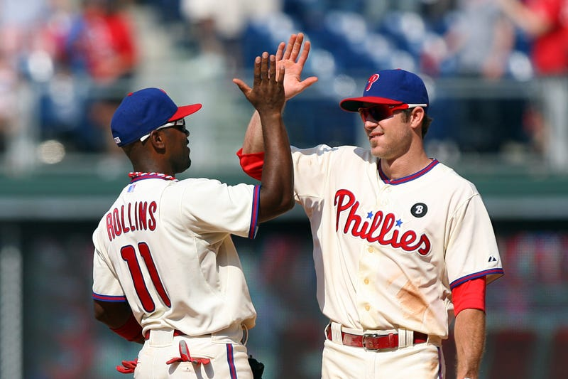 Jimmy Rollins and Chase Utley