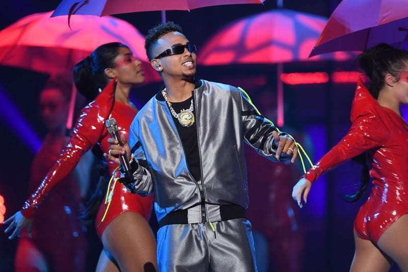Ozuna performs onstage during the 20th annual Latin GRAMMY Awards at MGM Grand Garden Arena on November 14, 2019 in Las Vegas, Nevada