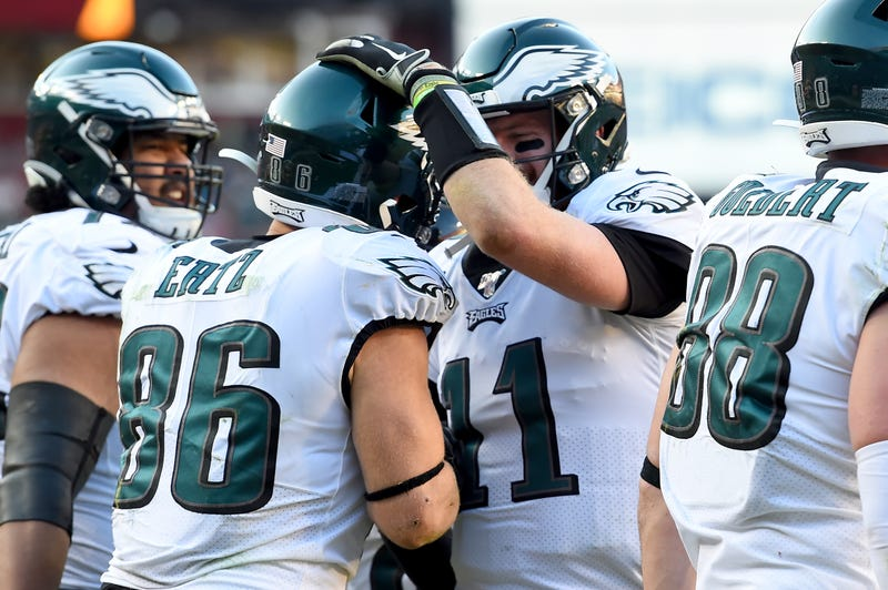 The Eagles defeated the Redskins in Week 15.
