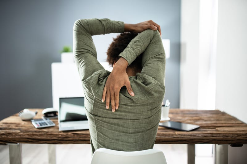 Posture while working from home