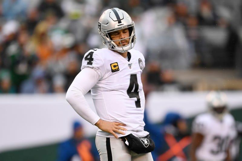 Derek Carr and the Raiders lost in Week 12.