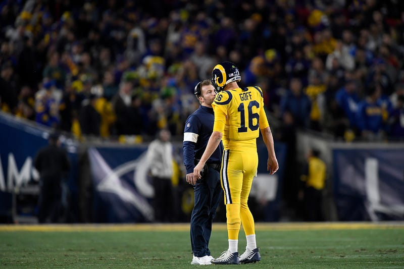 Sean McVay and Jared Goff have regressed in 2019.