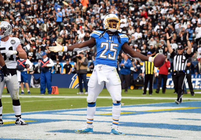 Chargers RB Melvin Gordon finds the end zone against Oakland