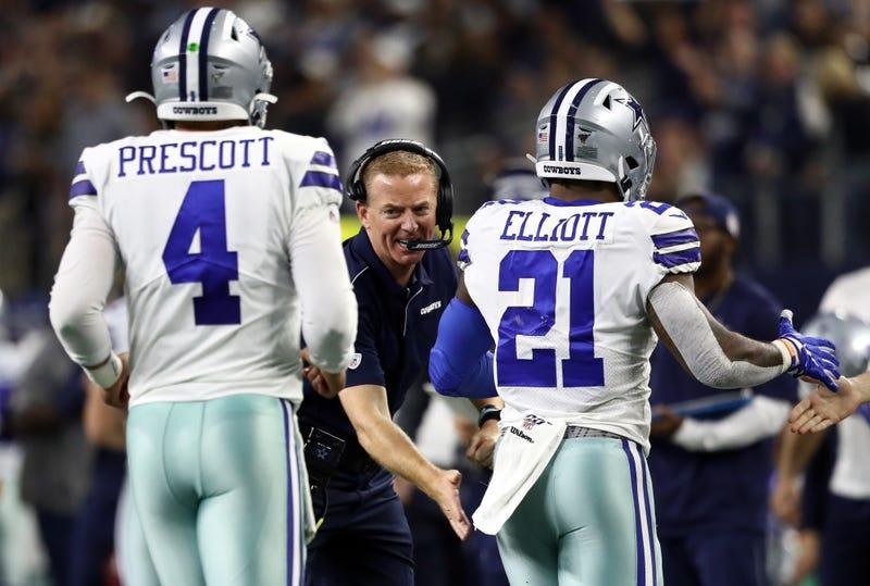 The Cowboys lead the NFC East.