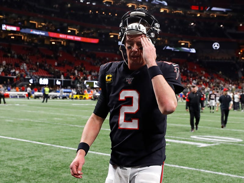 Matt Ryan and the Falcons lost on Thanksgiving.