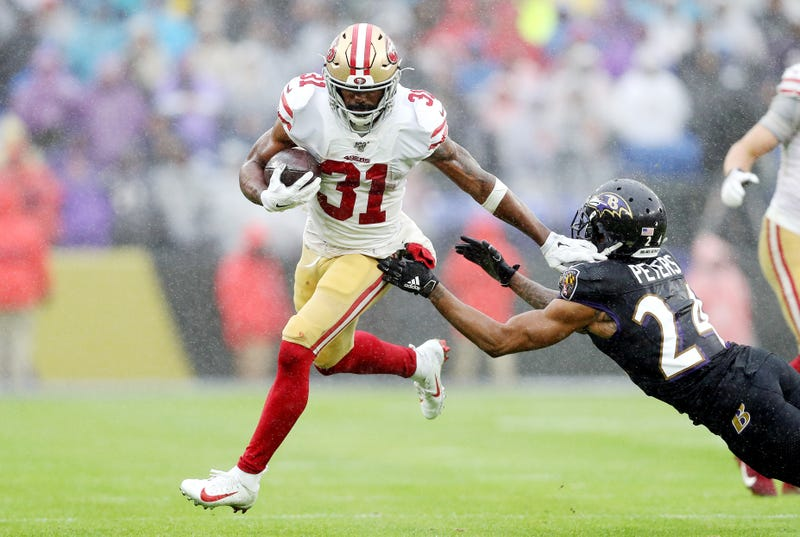 Raheem Mostert and the 49ers lost a close game in Week 13.
