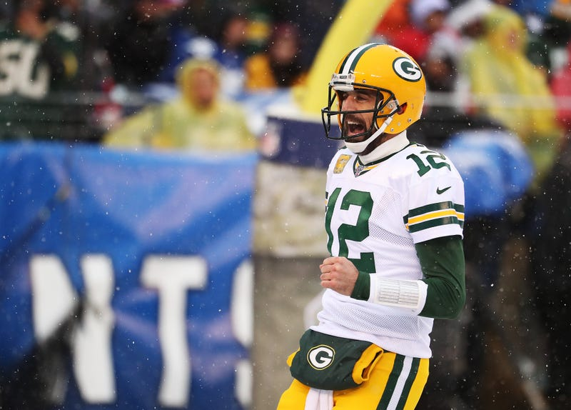 Aaron Rodgers and the Packers defeated the Giants in Week 13.