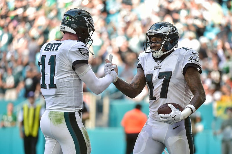 Carson Wentz and Alshon Jeffery