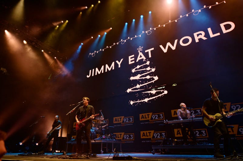 Jimmy Eat World at 'Not So Silent Night'