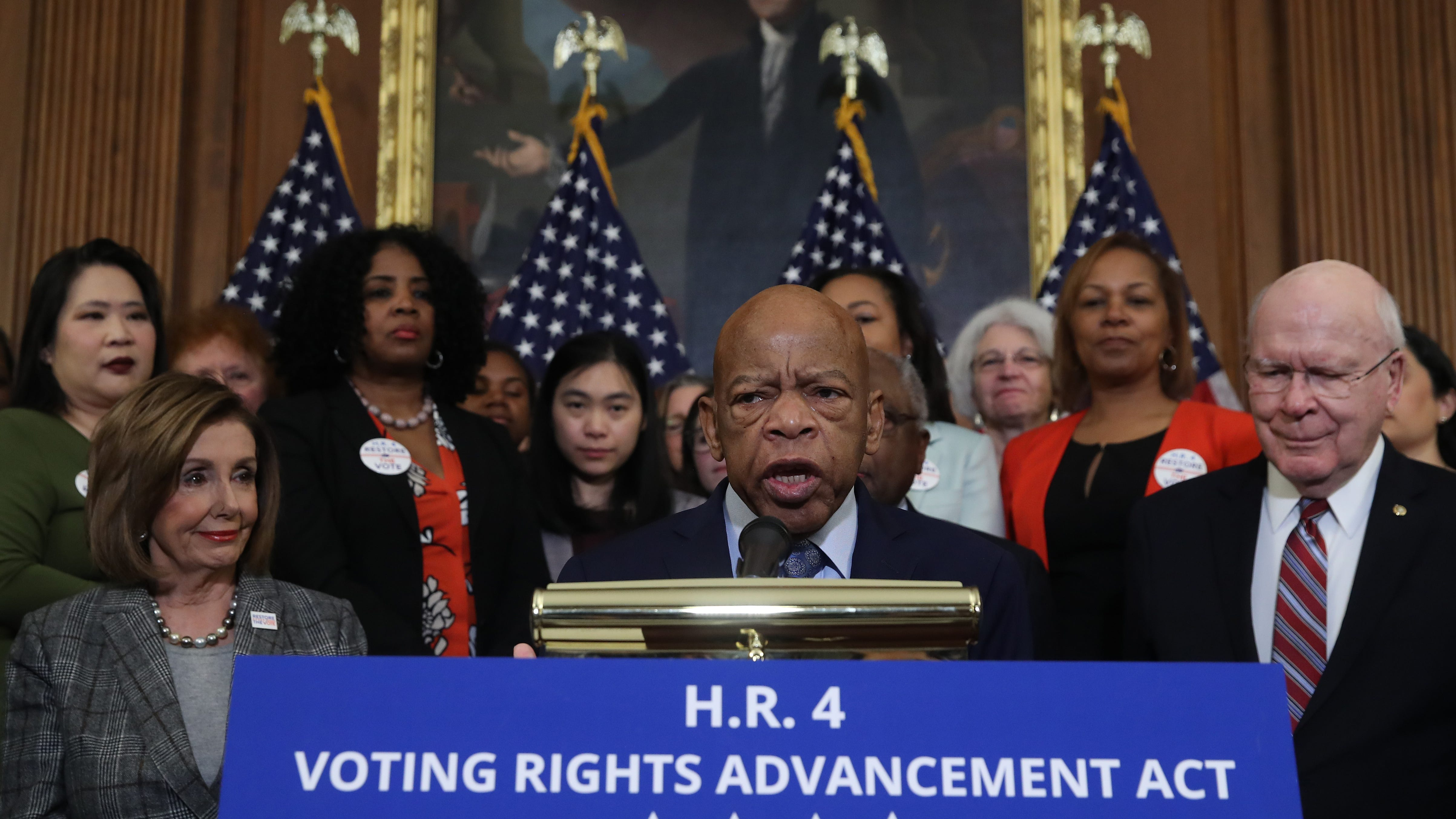 Rep. David Scott Statement on House passage of the John R. Lewis Voting Rights Advancement Act