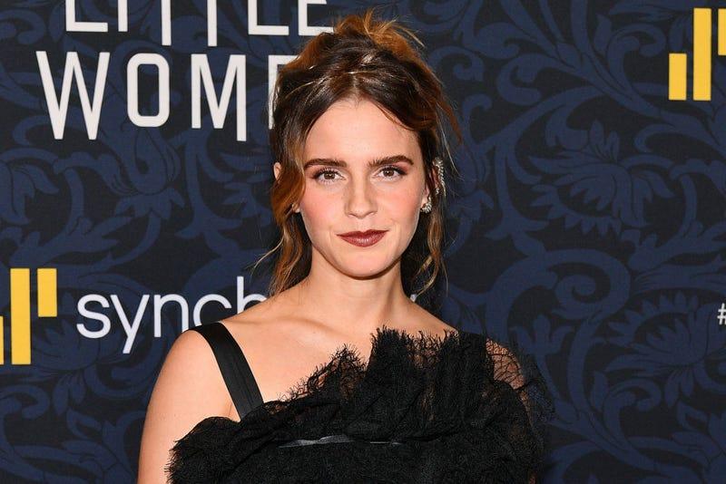 "Emma Watson attends the ""Little Women"" World Premiere at Museum of Modern Art on December 07, 2019 in New York City."