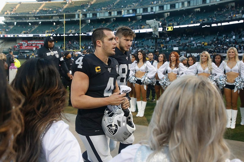 The Raiders lost their final home game in Oakland.