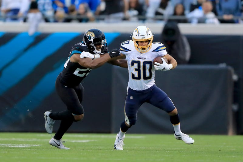 Austin Ekeler had a big game in the Chargers' win over the Jaguars.
