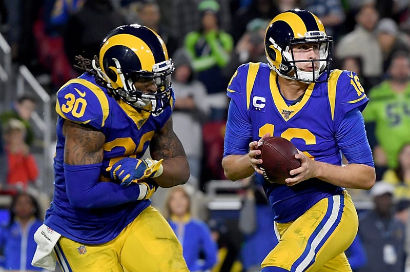 The Rams are trying to push their way into the playoff picture.