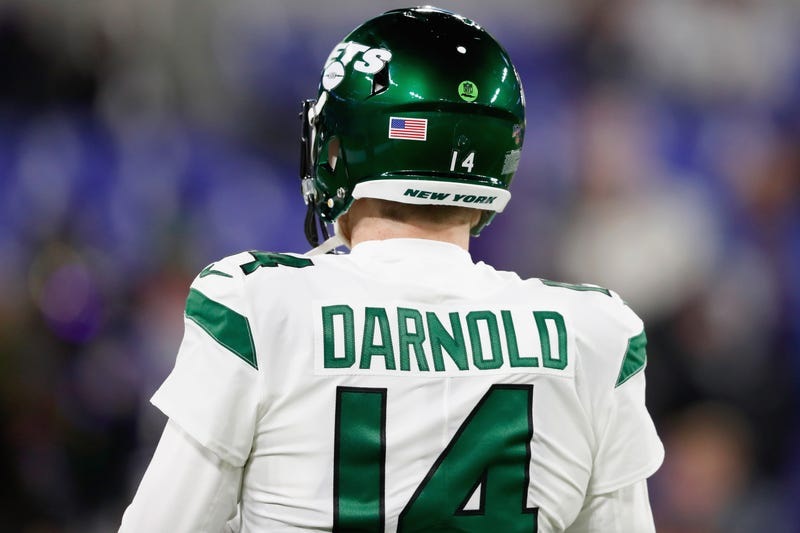Sam Darnold's second year is wrapping up.