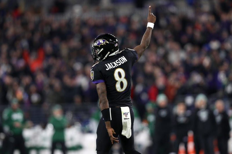 Lamar Jackson is the favorite to win the NFL MVP.