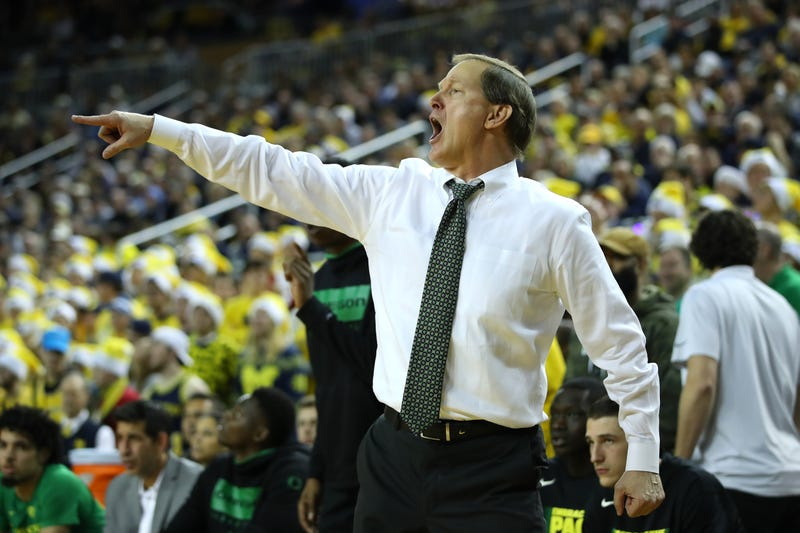 Dana Altman is Oregon's head coach.