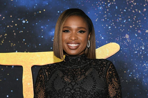 Jennifer Hudson at the premiere of 'CATS'