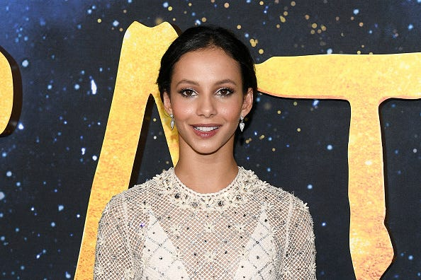 Francesca Hayward at the 'CATS' premiere