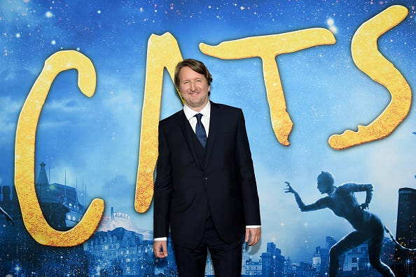 Tom Hooper the director of 'CATS'