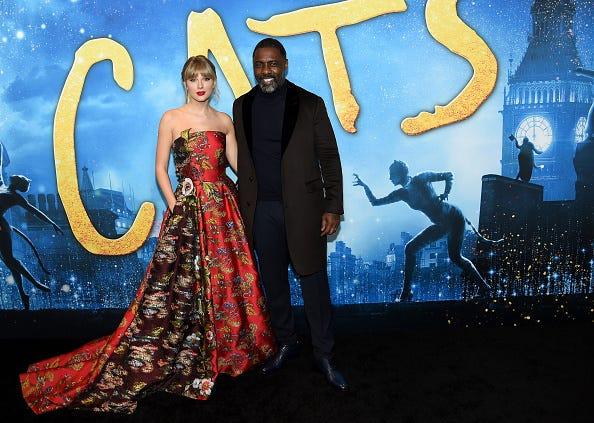 Idris Elba and Taylor Swift