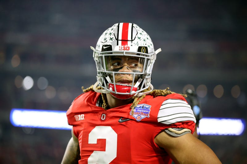 Ohio State's Chase Young looks on during the Fiesta Bowl