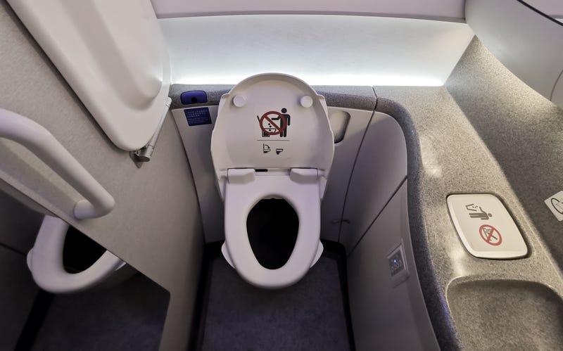 Plane Bathroom