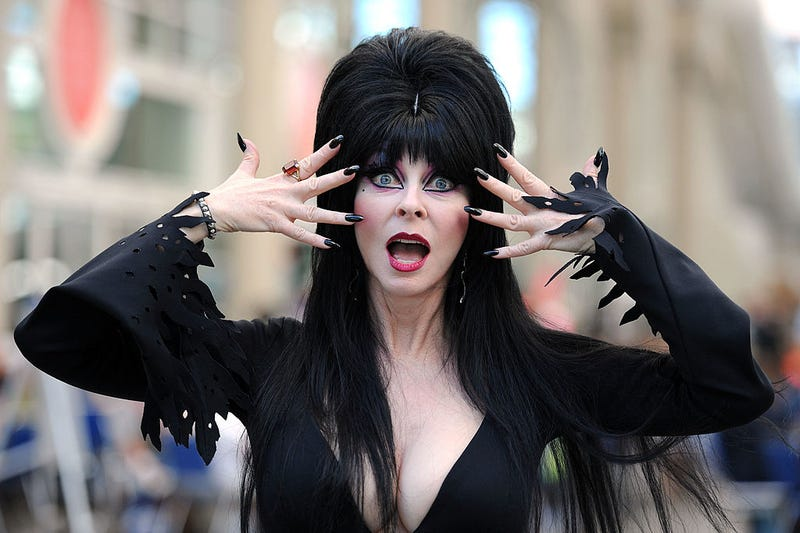 Elvira Mistress of the Dark Photo Op during Comic-Con 2011 on July 23, 2011 in San Diego, California.