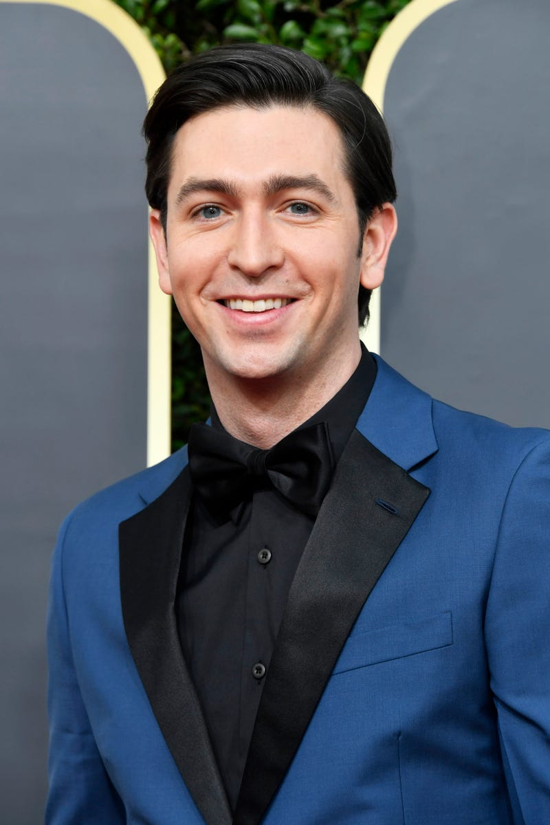nicholas braun of 'succession' at the 2020 golden globes