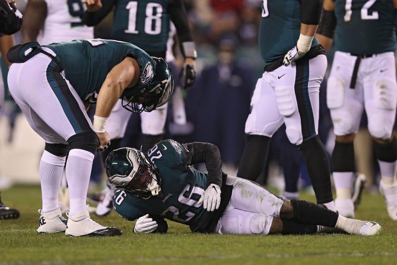 Miles Sanders injury