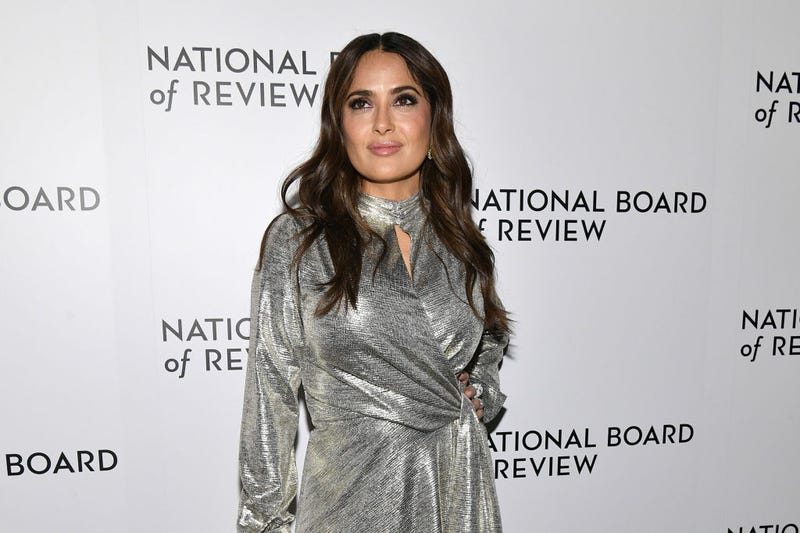 Salma Hayek attends the 2020 National Board Of Review Gala