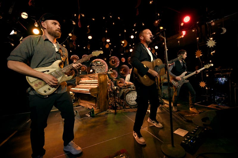 Coldplay Performs at Inaugural RADIO.COM Live Event Series During Grand Opening Of HD Radio Sound Space at Entercom Los Angeles