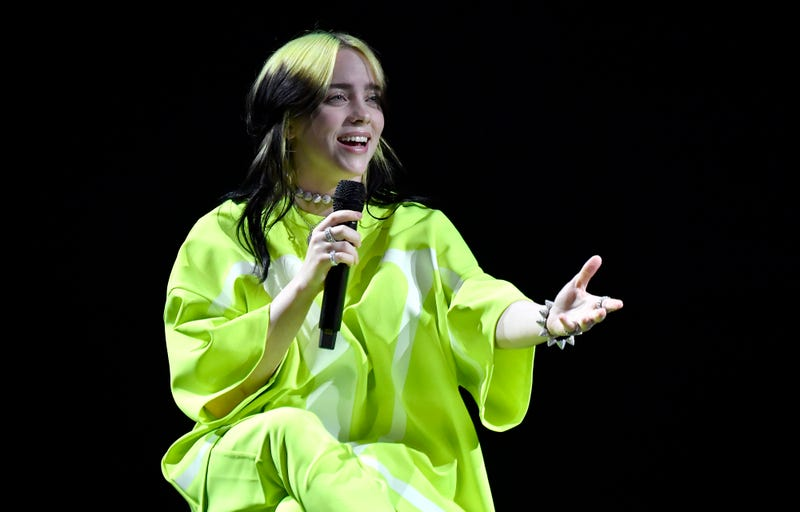 Billie Eilish performs